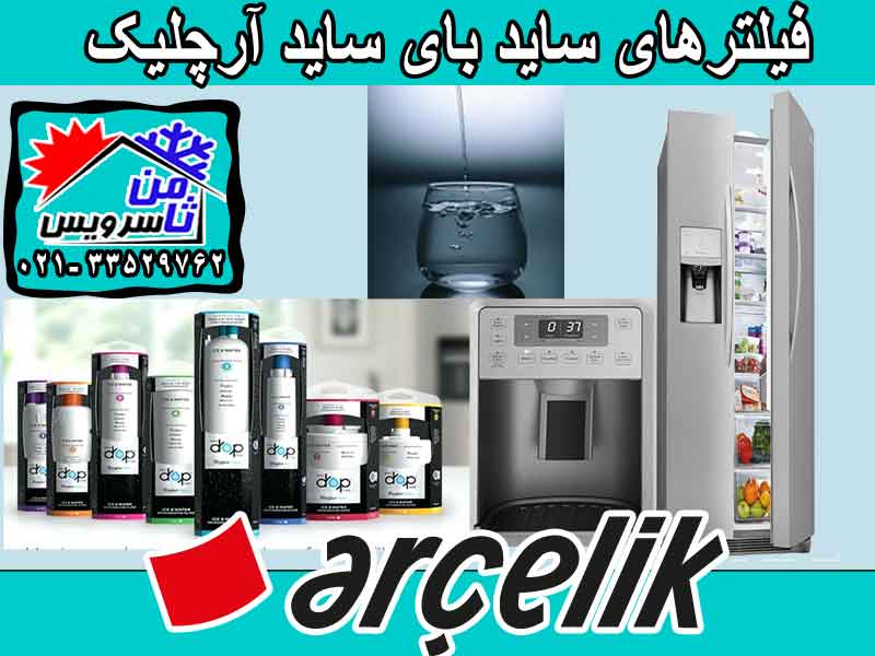 Arcelik side by side water filter sell,buy & replacement