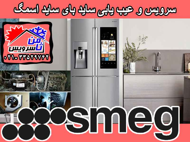 SMEG side by side trouble shooting & service at home in Tehran & Mashhad